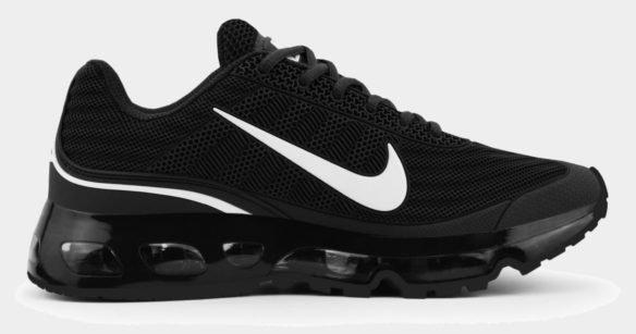 Nike Air Max 360 черные с белым