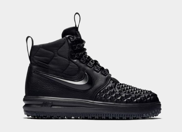 Фото Nike Lunar Force 1 Duckboot черные - 3