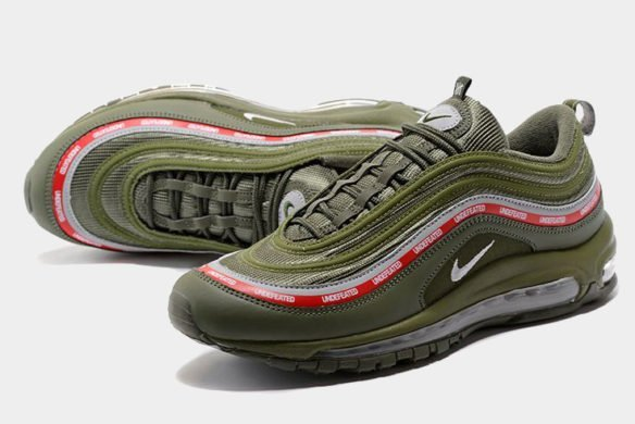 Фото Undefeated x Nike Air Max 97 MoonRock зеленые - 1